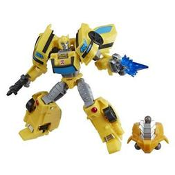 Transformers Toys Cyberverse Deluxe Class Bumblebee Action F