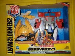 Transformers Toys Cyberverse Spark Armor Ark Power Optimus P