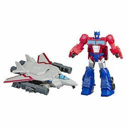 Transformers Toys Cyberverse Spark Armor Optimus Prime Actio