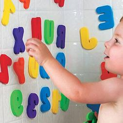 36 pcs Baby Kids Toys Foam Letters Numbers Floating Bathroom
