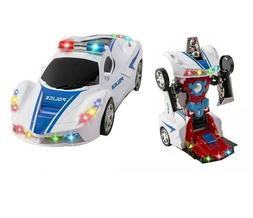 Toys for Boys Age 3 4 5 6 7 8 9 Year Old Kids Police Car Tra