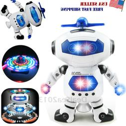 Dancing Robot Toys For Boys Kids Toddler Musical Light Toy B