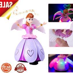 toys for girls led robot dance doll