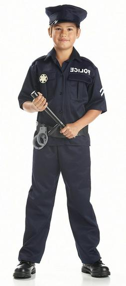 California Costumes Toys Police, Medium