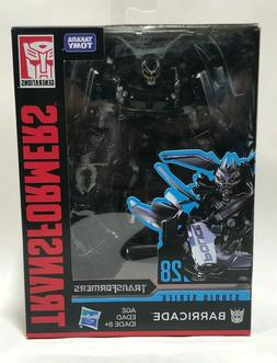 Transformers Toys Studio Series 28 Deluxe  Movie 1 Barricade