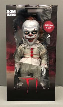 Mezco Toyz IT  Mega Scale Talking Pennywise Figure Clown