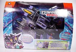 Transformers Armada Skywarp with Mini-con Thunderclash