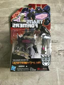 Transformers Fall Of Cybertron SHOCKWAVE Mosc Deluxe Generat