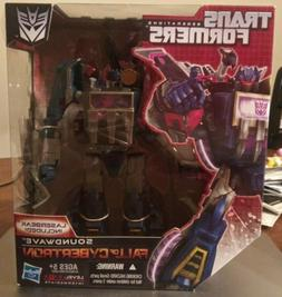 Transformers Fall of Cybertron SOUNDWAVE Voyager Foc with La