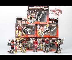 Transformers G1 DINOBOTS Grimlock/Slag/Sludge/ Snarl/ Swoop