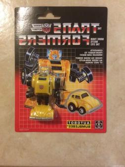 Transformers G1 Minibot BUMBLEBEE 2018 Walmart Exclusive Rei