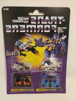 Hasbro Transformers G1 Reissue Cassette Decepticon Frenzy &
