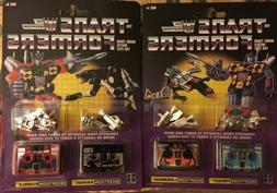 TRANSFORMERS G1 REISSUE FRENZY & LASERBEAK, RAVAGE & RUMBLE