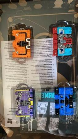 transformers generations select spy patrol 4 pack