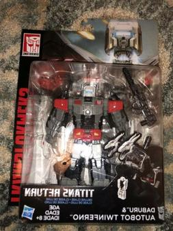 Transformers Generations Titans Return Deluxe Daburu & Autob