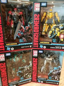 TRANSFORMERS Lot Of 4  Soundwave,Roadbuster,Bumblebee & Shat