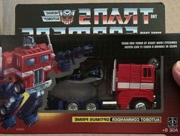 Transformers Optimus Prime G1 2018 Walmart Exclusive Autobot