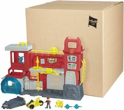Transformers Rescue Bots Griffin Rock Firehouse Headquarters