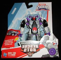 Transformers RESCUE BOTS MORBOT RACECAR Vehicle Playskool He
