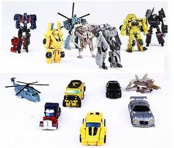 Transformers Robot Car Optimus Prime Bumble Bee Classic Figu