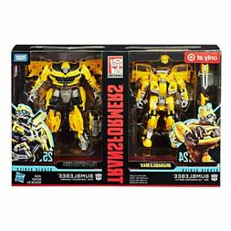 Transformers Studio Series 24 and 25 Deluxe Class Bumblebee