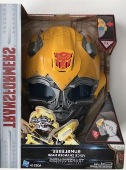 Transformers The Last Knight Bumblebee Voice Changer Mask