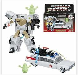 Transformers x Ghostbusters 2019 Heroic Autobot Ecto-1 Ectot