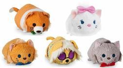 Disney Tsum Tsum Aristocats Plush Toys - NEW