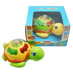 Turtle Toy Baby Kids Activity Musical Animal  Development To