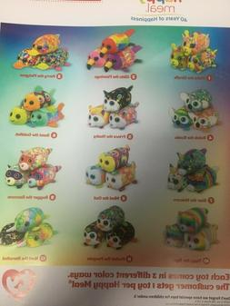 McDonalds TY BEANIE BABIES 40 years of happiness toys 36 pc