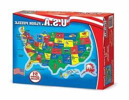 U.S.A. Map Floor