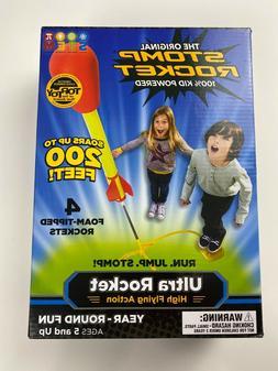 Stomp Rocket Ultra Rocket 4 Rockets Outdoor Kids Toy Ages 5+