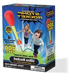 Stomp Rocket Ultra Rocket, 4 Rockets - Outdoor Rocket Toy Gi