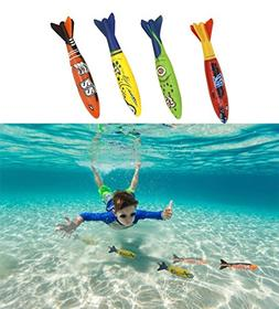 Haktoys Underwater Fast Gliding Shark Torpedo Toy 5'' - Glid