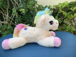 unicorn pink 16 small plush stuffed animal