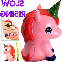 Unicorn Squishy Squishies Pink Slow Rising Toys Prime Pack J
