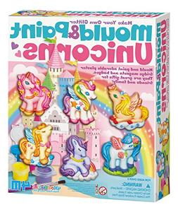 4M Unicorns Mould & Paint Kit