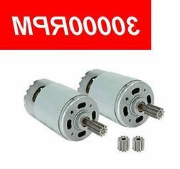 2 Pcs Universal 550 30000RPM Electric Motor RS550 12V Motor