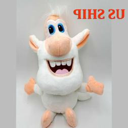 "US & 13"" Anime Booba Buba White Pig Plush Toy Cartoon Cute S"