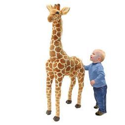US Big Plush Giraffe Toy Doll Giant Large Stuffed Animal Sof