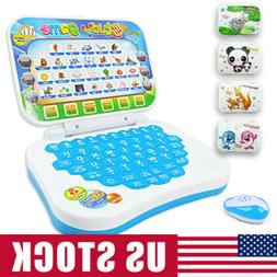 US Children Carton Computer Laptop Educational Learning Toys