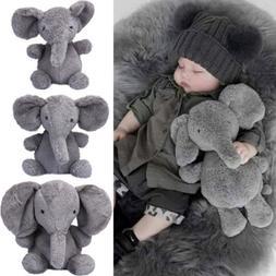 US Elephant Stuffed Animal Plush Toy Dolls for Kids Baby Bed