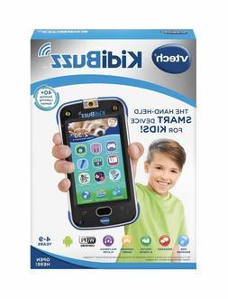 V Tech KidiBuzz Hand-Held Smart Device Black Toy Phone For K