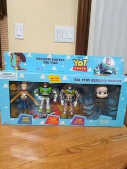 Vintage NEW 1995 Original TOY STORY Action Figures Gift Set