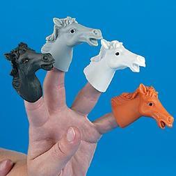 Vinyl Horse Finger Puppets