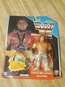 VTG WWF Hasbro Brutus The Barber Beefcake French Card Series