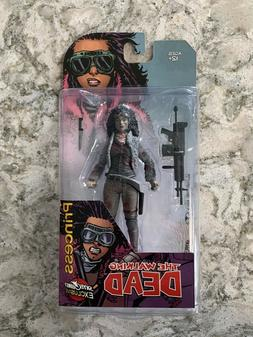 McFarlane Toys Walking Dead PRINCESS in sealed package blood