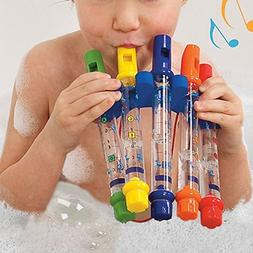KINGZHUO 5Pc Water Flutes Musical Instrument Bath Shower Swi