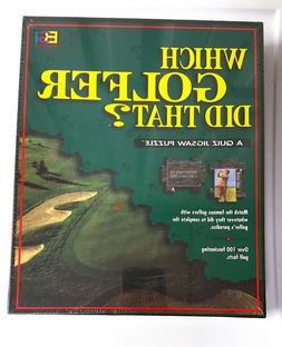 NEW SEALED IN BOX~ WHICH GOLFER DID THAT? A QUIZ JIGSAW PUZZ