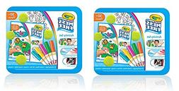 Crayola Color Wonder Art Kit Animal Theme Toy EVapvV, 2Pack